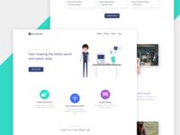 Purwarupa Website Design