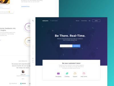 Nelicomm - Landing Page