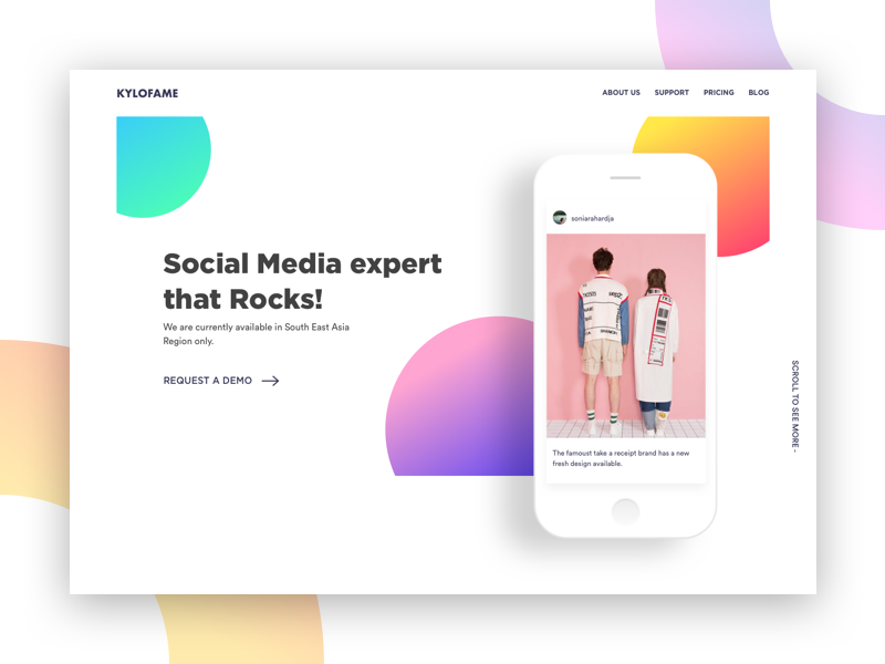 Exploration - Social Media Product (WIP)
