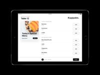 On-Site App - Coffee Shop Menu