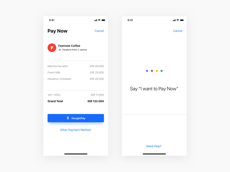 #Exploration - GooglePay Voice