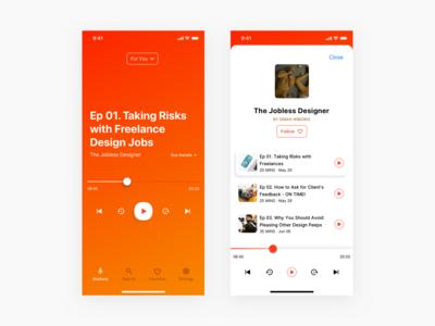 #Exploration - Random Podcast Player