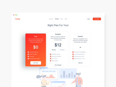 Pricing Page Exploration