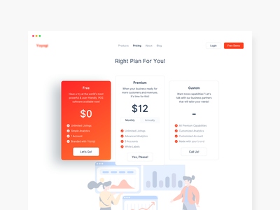 Pricing Page Exploration gradient minimal pricing table pricing page pricing plan pricing web design product design
