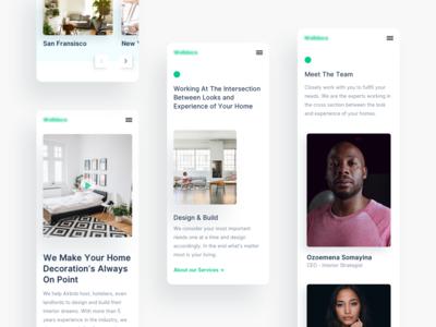 Airbnb's Interior Design Startup (Responsive)