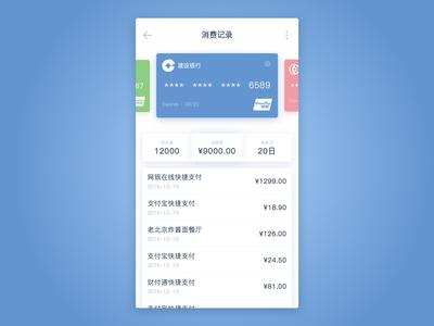 Consumer record interface