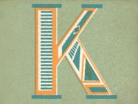 K - Typography