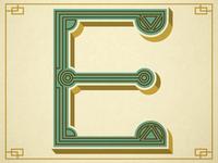 E - Typography