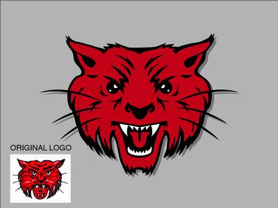 Ruston High School Bearcat Redesign football wildcat bobcat bearcat sports mascot design logo