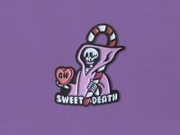 Oh Sweet Death Enamel Pin