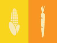 Corn & Carrot