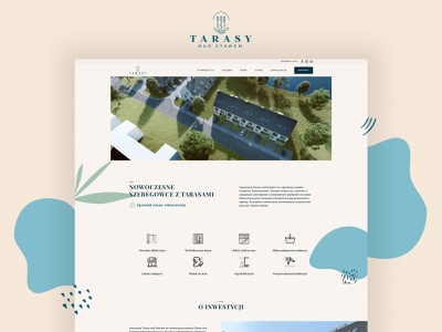 Tarasy Nad Stawem design website webdesign web