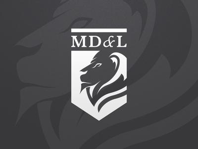 MD&L lion logo law