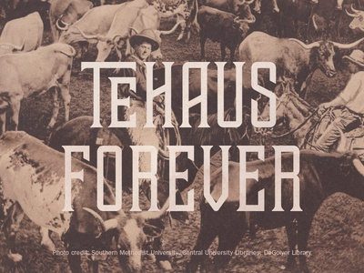 Tehaus Forever typography western