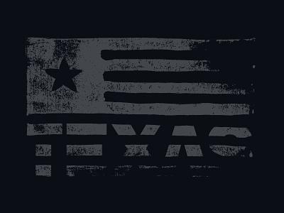 Linocut Flag linocut texas flag