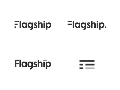 Flagship Concepts logo flag futura flagship