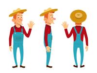 Farm boy character design