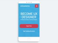 xAcademy - Become UX Designer (Responsive Version)