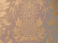 Absolut Elyx Pineapple of Hospitality & Damask Pattern