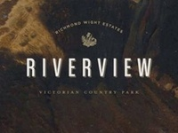 Riverview Victorian Country Park Branding