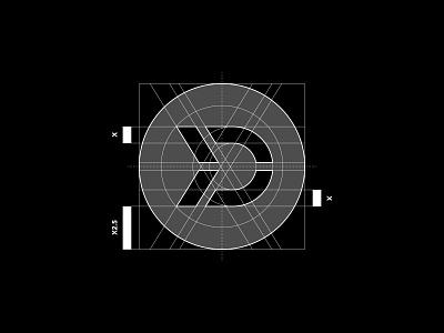 Datify construction grid illustration logodesign vector typography logotype clean branding simple minimal logo