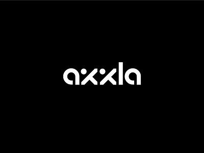 Axxla letter logodesign typography logotype clean chair furniture branding simple minimal logo