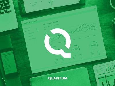 Quantum | Logo design