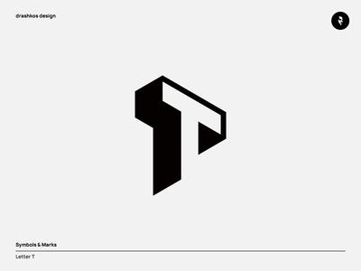 T letter | Unused design