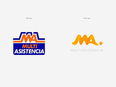Multiasistencia Rebranding logo design logodesign logotypes graphic  design graphic design graphicdesign logotype design logotype designer logotypedesign icon rebranding rebrand logo brand identity typography logotype visual identity design brand branding