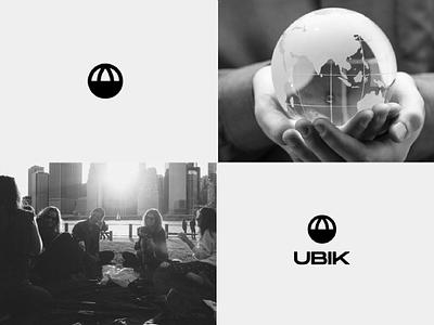 UBIK logo anagram logo design icon symbol designer desing brand design naming branding and identity branding agency branding design mask brand identity typography visual identity logotype design brand logo branding