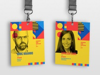 Coworking Spain Conference ID Cards
