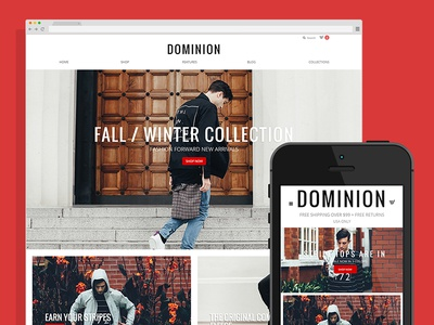 Dominion eCommerce Theme