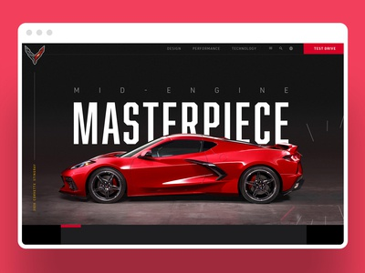 2020 Corvette Web Design