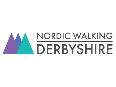Nordic Walking Derbyshire - Logo logo design futura