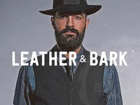 Leather & Bark wordmark