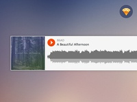 Freebie: Sketch Soundcloud Embed Player