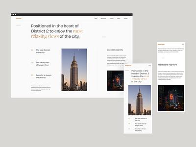 Masteri Experimental Layout Vol.2 mobile responsive layout design grid typography homepage web design ui clean minimal website landing page layout interaction vietnam