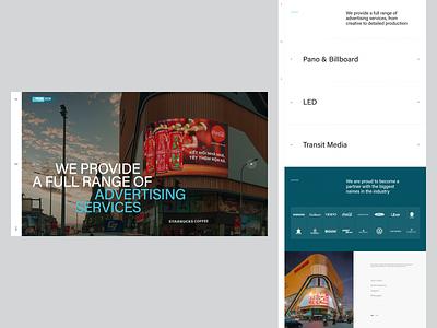 Prowtech International Landing Page ui design clean design web design minimal landing page website layout vietnam