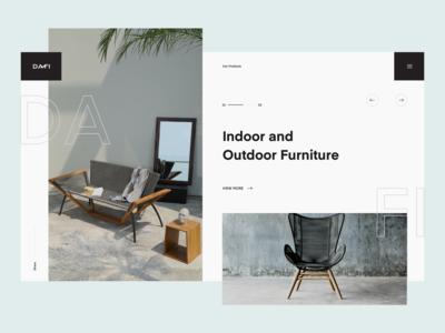 Concept for DAFI Furniture