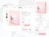 Briogeo Subscription on Product Detail Page