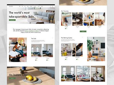 eCommerce Home Page Exploration ux ui ui ux ux design homepage ecommerce design ecommerce design website modern web ux ui