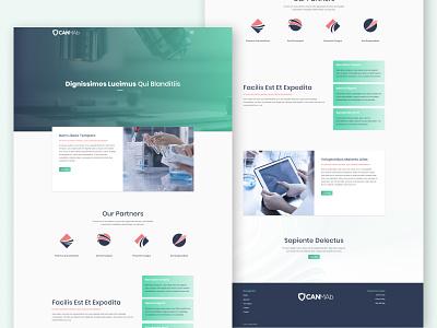 🔬👩🏽🔬 Biotech Website Design modern pharma health care health biotechnology bio website web ux ui science biotech design figma