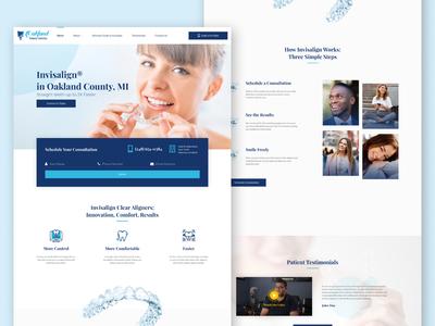 😁👩🏾⚕️ Invisalign® website for Oakland Family Dental