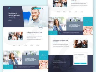 Dental Website Template 😄👩🏼⚕️