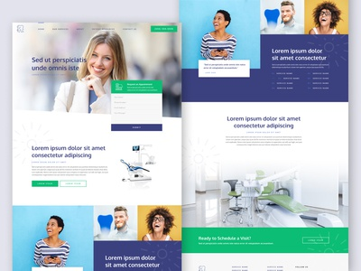 Template Website for Dental Office 👩🏾⚕️😄