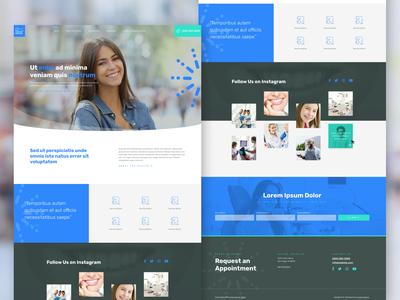 Website Template for Dental Office 👩🏾⚕️😄