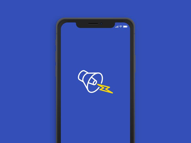 Jolt Logo Icon / Splash Screen spash screen isometric app ui illustration vector minimlist minimal logo design logo identity icon branding brand design brand