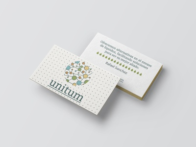 Unitum - Business Card graphic design logo branding