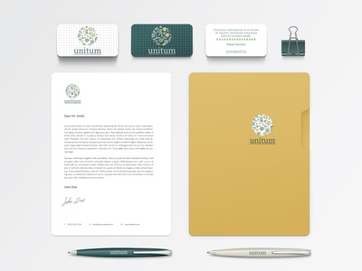 Unitum - Branding Identity graphic design logo branding