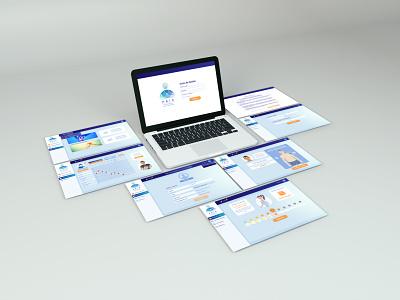 PAIN - Patients Adherence Improvement Network - Web Design ux ui design vector colombia graphic design branding web design